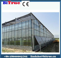 Cheap polycarbonate agricultural greenhouse , low cost tunnel plastic greenhouse for sale , commercial green house kits