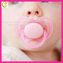 Hot sales wholesales funny design bpa free silicone baby pacifier,welcome printed logo food grade large nipple pacifier for baby