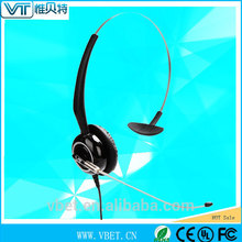 earphones cheap headset with mic Headphone with RJ-11 connectivity
