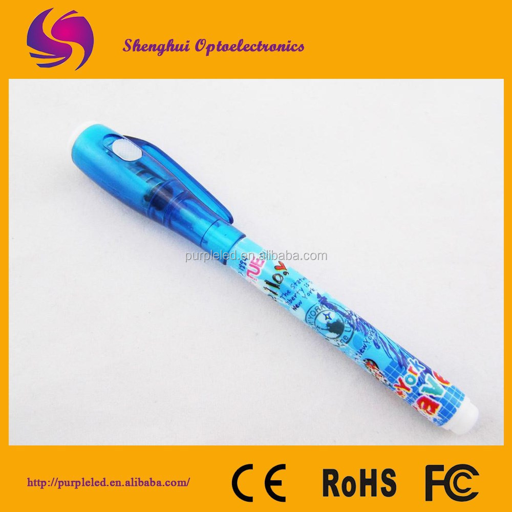 Uv light pens counterfeit