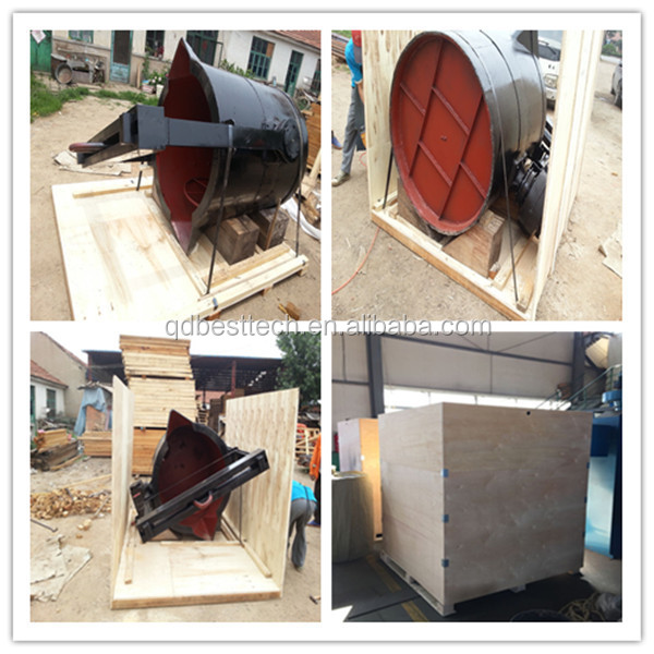 0.3-10 tons pouring cast iron ladle for melting furnace, lip pouring ladle