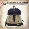 2014 High quality Canvas Vintage Backpack