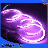 purple led fog lights light angel eyes blue 12v 160mm ccfl angel eyes ring