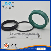 Genuine spare parts forklift seals kit used for hydraulic cylinder