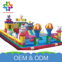 Golden Supplier Park Exercise Playground New Style Child'S Favourite Free Customize Kids Inflatable Games