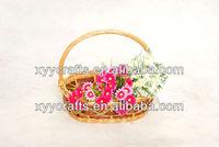 oval 100% handmade willow basket (factory supplier)