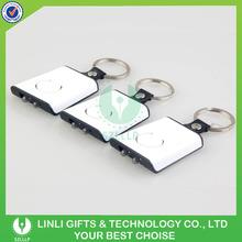 Promotional logo plastic 2 led keying
