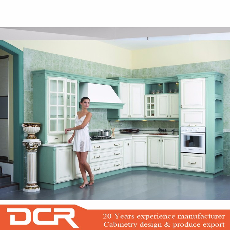 Vinyl Kitchen Cabinet Doors: High Gloss White Color Vinyl Wrapped Pvc Kitchen Cabinet