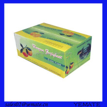 Luxury full color patterns for 5ply carton packaging boxes for cherry