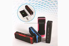 portable bluetooth speaker with fm radio,Outdoor Bluetooth Speaker with 4000mah power bank/TF Card/FM Radio