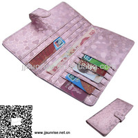 leather multifunction wallet credit card id case