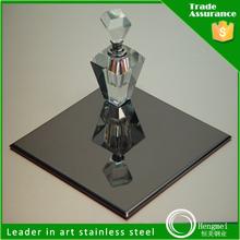 410 free sample black mirror stainless steel sheet for elevator door decoration