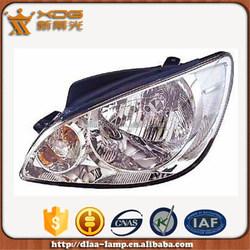 Korea car lamp parts, car headlight, getz 2006 car Head lamp including wiring harness and light bulbs