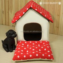 House shape dog indoor houses/ Funny dog house /pet dog cushion hot sale