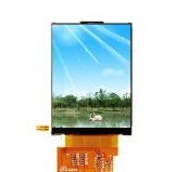 2.4 inch tft lcd display Negative lcd module with touch screen