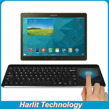 Full Size QWERTY Wireless Bluetooth Keyboard With Touchpad Panel For Apple iPad Windows Tablet Android Tablet TV HB087