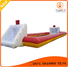 Football sport 0.55mm Soccer Inflatable Arena / mini inflatable soccer field for sale