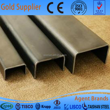 China Manufacturer 304L Stainless Steel Channel Bar