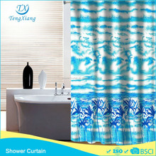 Most Popular Hookless Shower Curtain Coconut Tree Design