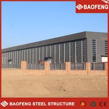 Robusta construcción de acero de seguridad de la planta consignas