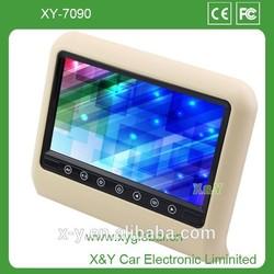 "9"" TFT LCD Headrest Monitor Car DVD Player (XY-7090)"