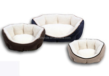 Oxford dog bed