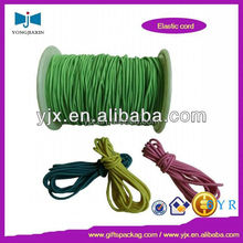 4mm high quality green round rubber bungee cord