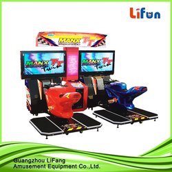 47 inch LCD high quality coin operated arcade game machine motorcycle