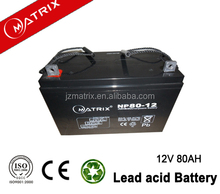 all auto Type Car & Truck Batteries 12v 80ah