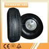 Hand Trolley pneumatic rubber wheel 4.10/3.50-4
