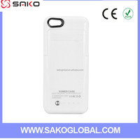 New Coming for iphone 5G 5S 5C Power Bank External Backup Battery Charger Case With 2200 mAh Capacity