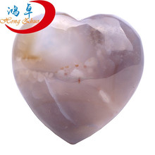 Natural agate Hearts For Wedding Gifts