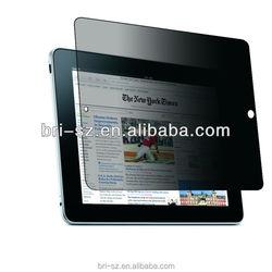 360 Degree Anti spy screen protector for iPad mini oem/odm secret protector for ipad