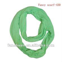 stylish new design green scarf 2012