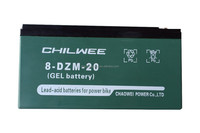 8-DZM-20 16V20A@2HR CHILWEE Maintenence Free Lead-Acid Battery