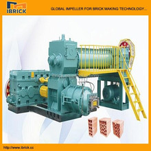 Low price small clay solid brick making equipment for family plant evs40b small brick making equipment