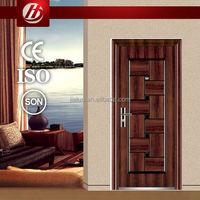 emergency exit fire proof door embossed steel panel door skin elite serie steel door