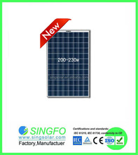 5kw 10kw 20KW 80KW solar system / 200W solar panel manufacturers in China / solar electric systems SFP23096