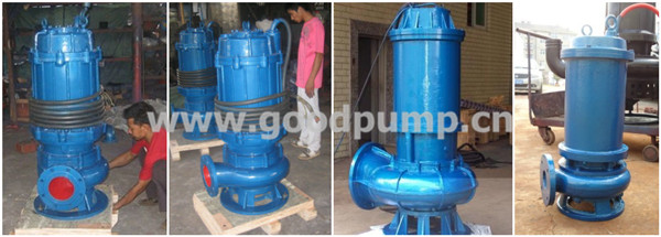 Vertical Non-clogging Sewage Electric Centrifugal Submersible Pump, Electric Submersible Pump, Submersible Pump