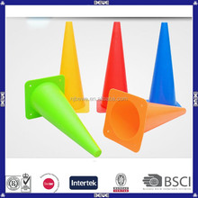 manufacture plastic football training colored customized soccer training cones