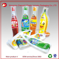 custom special shape bag juice