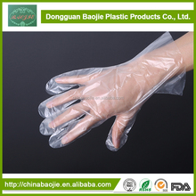 Guangdong Disposable Plastic PE Hand Gloves For Medical