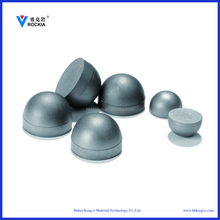 Tungsten cemented carbide wear half around ball