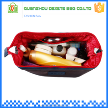 2015 Custom leather travel polyester wash bag plastic air conditioner