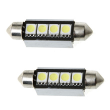 Car led roof light dome 4smd 5050,Festoon Led Light 41mm ,Car Led Bulb