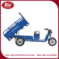 Good quality cheap three wheel 900W electric tricycle bike for adults made in china