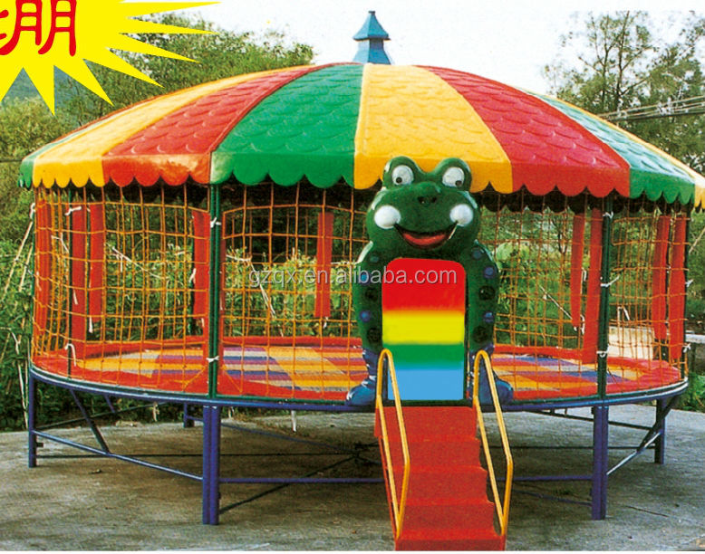 12 Foot Park Round Kids Outdoor Games Trampoline Tent