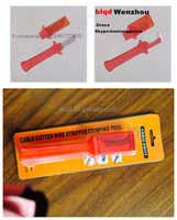 cable cutter wire stripper crimping tools,cable stripping knife,cable knife