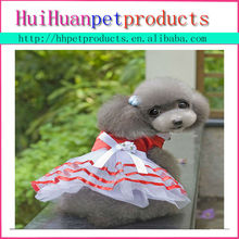 lovable navy style dress for dog, fashion cute dog clothes wholesale