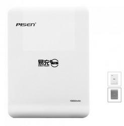 Pisen smartphone power bank 10000mah, portable battery charger, pisen easy power